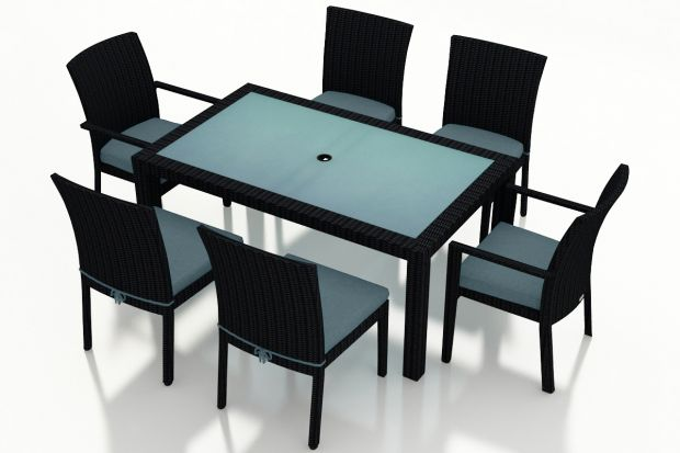 Peachy Urbana 7 Piece Dining Set Hl Urbn Cb 7Ds Gamerscity Chair Design For Home Gamerscityorg
